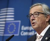 Juncker delivers a speech at the Academy of European Law