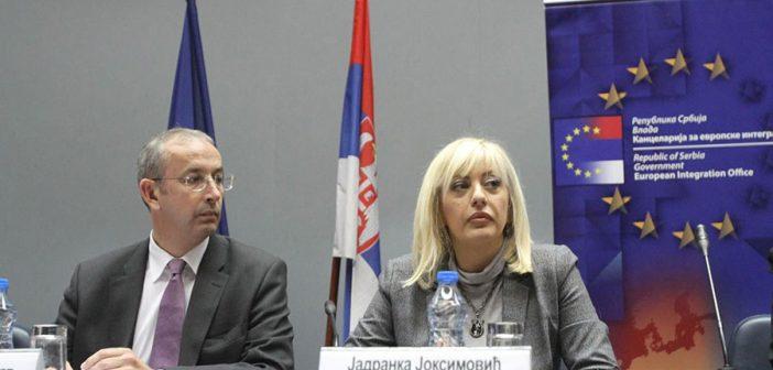 Davenport: Evropska komisija dala preporuke o otvaranju novih poglavlja, čekaju se odluke država članica