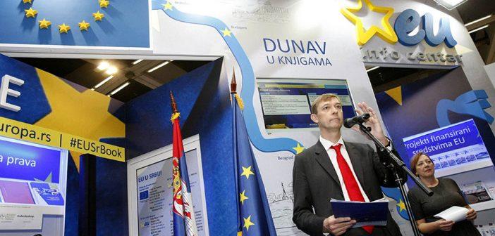 Dunav kao simbol saradnje EU i Srbije na Međunarodnom sajmu knjiga u Beogradu