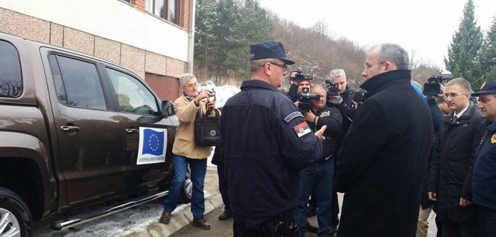 Podrška EU graničnoj policiji i migrantima