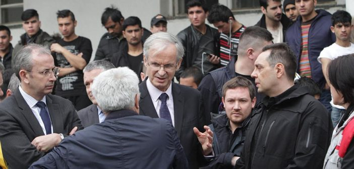 Danielsson: The EU will continue to help Serbia manage migrant reception centres