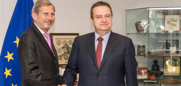 Remarks by Hahn following his meeting with Dačić