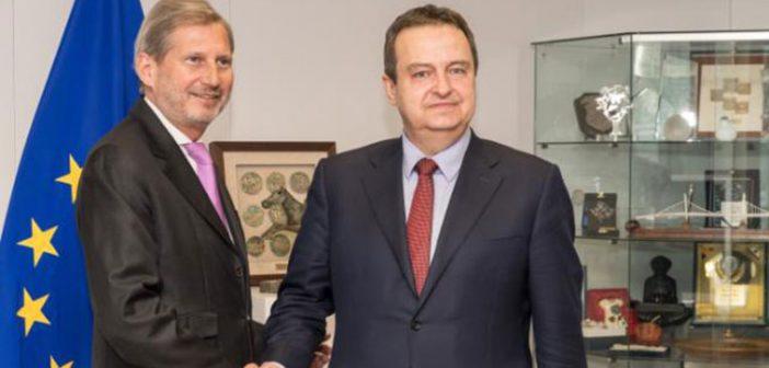 Hanova izjava nakon sastanka sa Dačićem