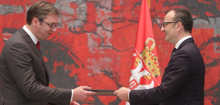 Сем Фабрици акредитован као нови амбасадор ЕУ у Србији