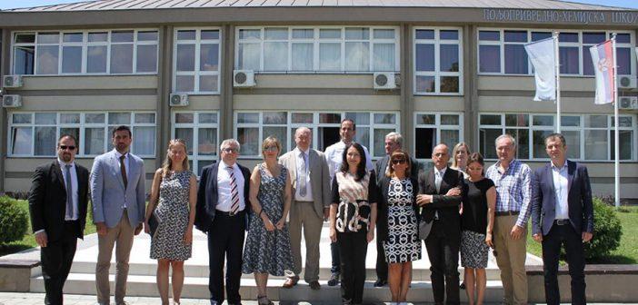 Evropski parlamentarci u poseti Obrenovcu