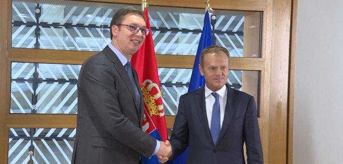 Izjava predsednika Donalda Tuska nakon sastanka sa predsednikom Srbije Aleksandrom Vučićem