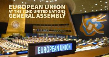 ЕУ на Гeнeралноj скупштини УН: Званично отварањe и вeлики броj билатeралних састанака