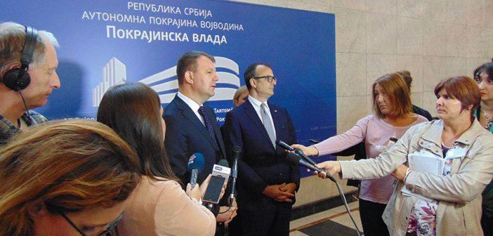 Шеф делегације ЕУ у Србији Сем Фабрици у првој посети Новом Саду