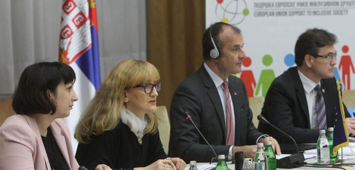 Fabrizi: The EU donated EUR5.4 million to Serbia in support of social inclusion