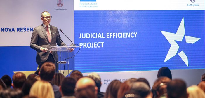 New solutions for judicial efficiency with EU support