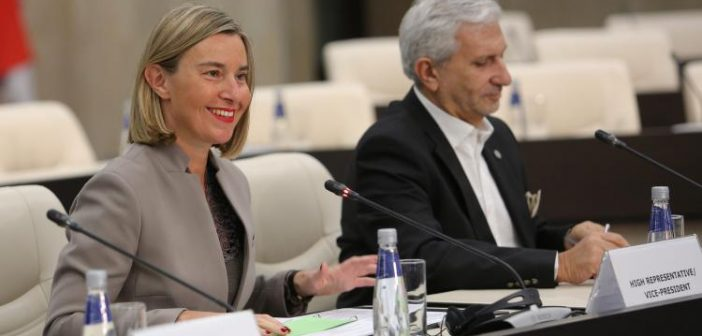 Western Balkans: We are working together to guarantee our common future, says Mogherini