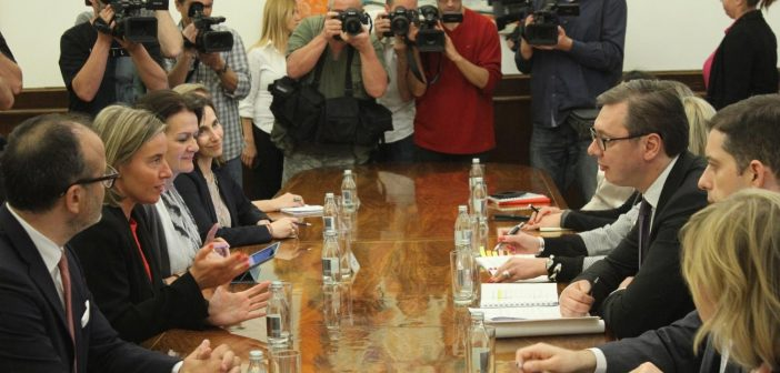 Mogherini: It is clear that negotiations with Serbia are advancing well