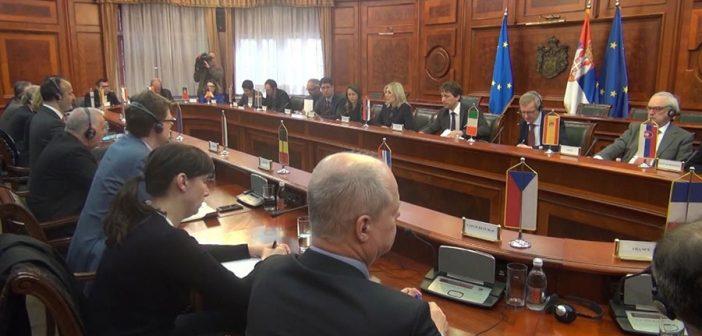 Fabrici: Izveštaj Evropske komisije je ohrabrenje za evrointegracije Srbije