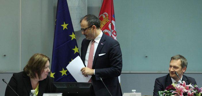 Fabrici predstavio Izveštaj o Srbiji u Privrednoj komori Srbije