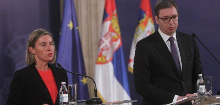 Remarks by High Representative/Vice-President Federica Mogherini at the press conference with Aleksandar Vučić, President of Serbia
