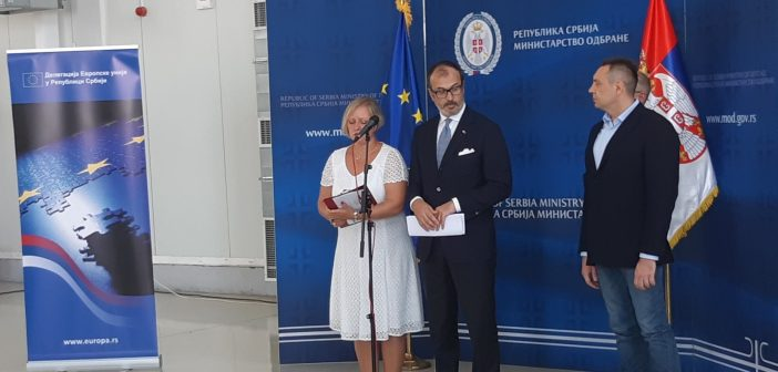 EU nastavlja da pomaže Srbiji na polju prevencije od poplava