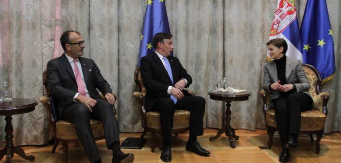 Мекалистер: Охрабрење Србији на путу ка ЕУ