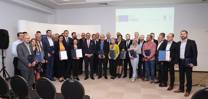 Fabrici: Evropska unija nastavlja da pruža podršku jačanju konkurentnosti na lokalnom nivou