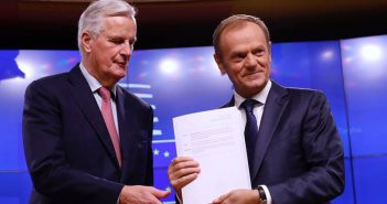 Remarks by President Donald Tusk after his meeting with Brexit EU Chief negotiator Michel Barnier