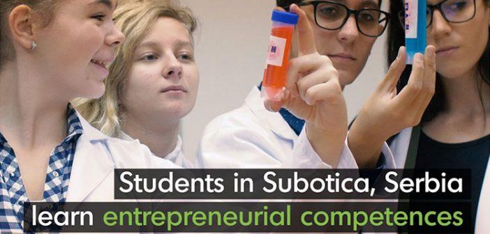 Serbian school taking the lead in entrepreneurial skills development
