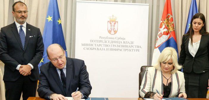 Agreement on Transport Community Permanent Secretariat signed today in Belgrade