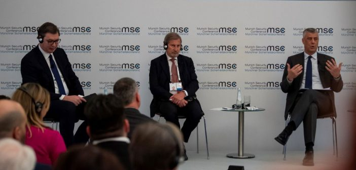 Hahn in Munich: Calling on both sides to work towards compromise