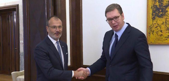 Vučić i Fabrici o nastavku dijaloga Beograda i Prištine i evrointegracijama