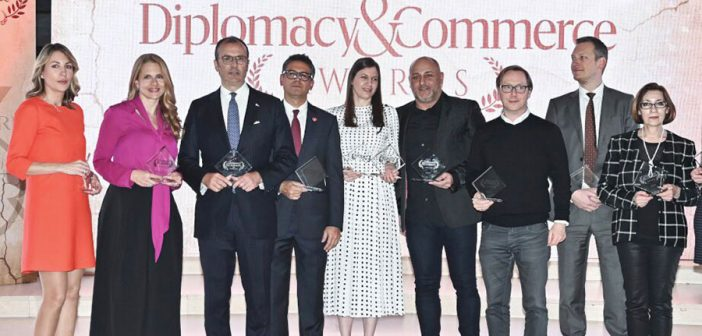 Ambasador Fabrici dobitnik nagrade magazina Diplomacy and Commerce