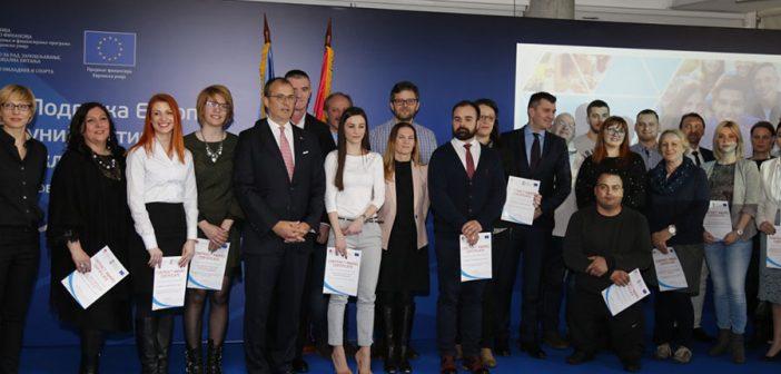 Više od 4 miliona evra za mlade u Srbiji