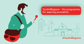 Training for young journalists in Brussels