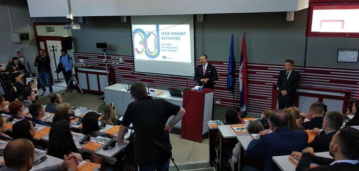 Ambassador Fabrizi: The Success of Erasmus+ The First Step towards the Academic Society Dialogue