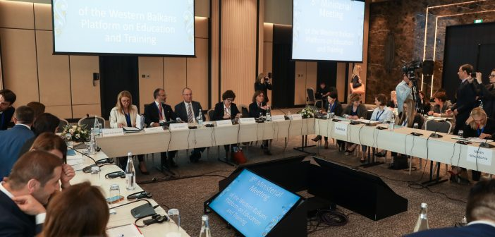 Ministerial Conference within Western Balkans Platform on Education and Training Kicks Off