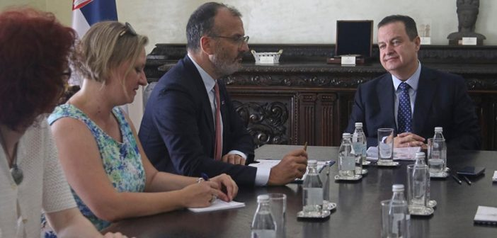 Ambassador Fabrizi Meets with Serbian Government Ministers