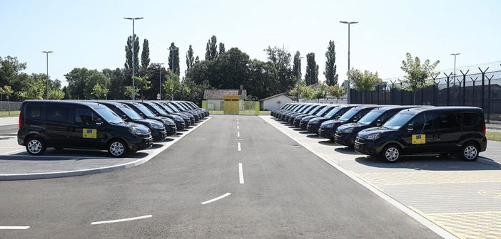 EU Donates 26 Cars to the Criminal Sanctions Administration