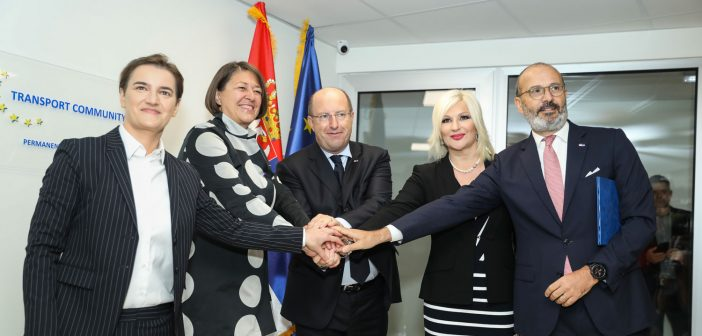 Otvoren Stalni sekretarijat Transportne zajednice u Beogradu