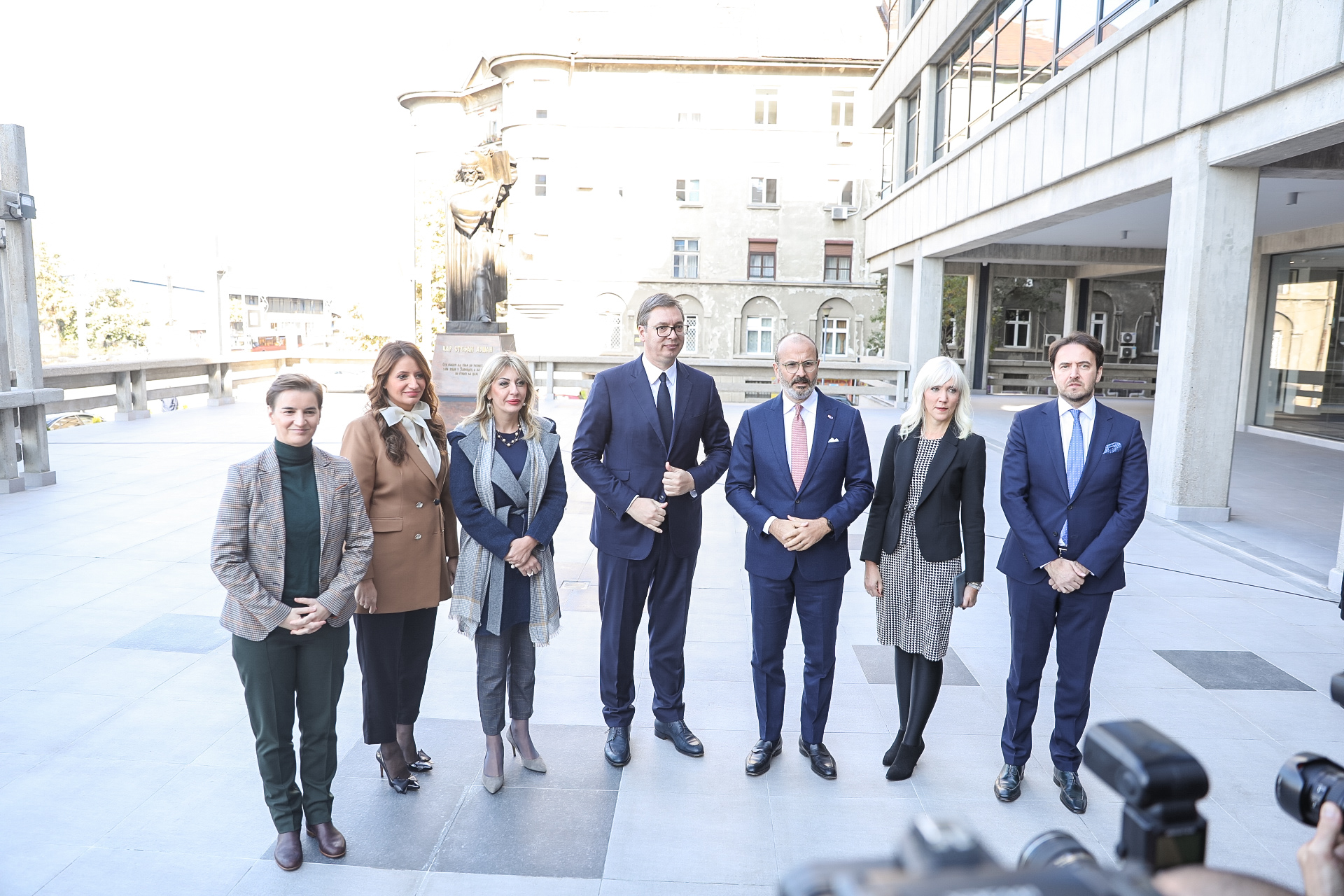 Otvorena Obnovljena Palata Pravde Eu Delegacija U Srbiji