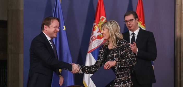 Serbia and EU sign new support package worth EUR 138 million