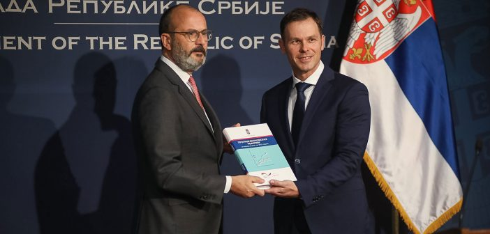 Ministarstvo finansija predalo Program ekonomskih reformi 2020-2022 godine