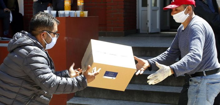 EU Support in Hygiene and Food Products for Roma Families