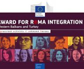 Winners of the 2019 EU Award for Roma Integration for the Western Balkans and Turkey to be Announced Today