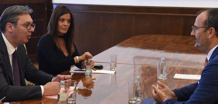 Delegacija EU nastaviće da podržava proces evropskih integracija Srbije