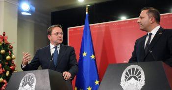 Commissioner Varhelyi Visits North Macedonia and Albania