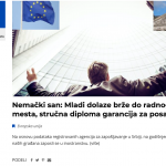 First Media Features within the Pulse of Europe Project Published
