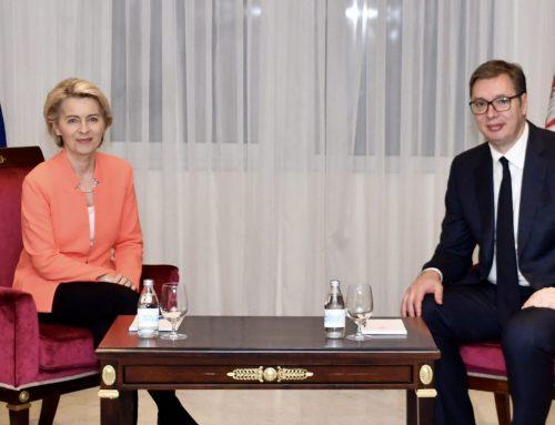 President Von der Leyen Visits Serbia