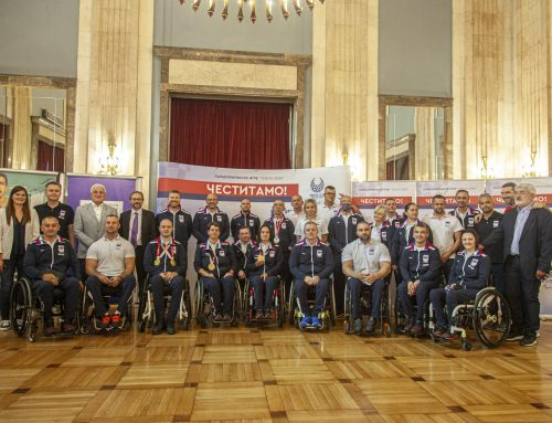 Paralympians Return to Serbia