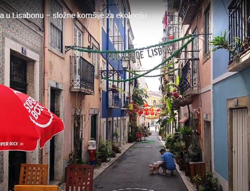 Zelena ulica u Lisabonu – složne komšije za ekologiju