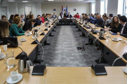Sastanak o izveštaju u EU Delegaciji - 29.05.2019.
