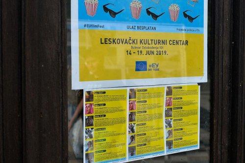 Festival evropskog filma u Leskovcu - 14.06.2019.