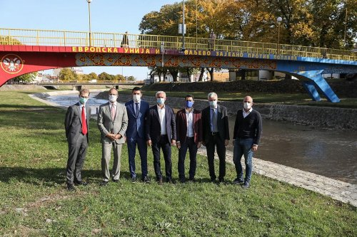 Handover of flood protection works - 27.10.2020.