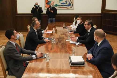 Meeting with Serbian President – 04.02.2021.